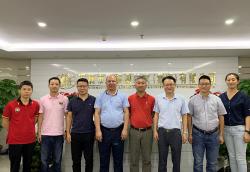 深圳市质量检验协会莅临集团考察指导