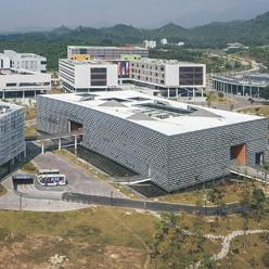 南方科技大学和深圳大学新校区