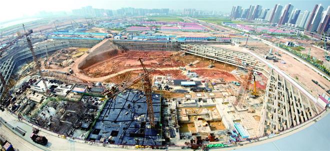华润前海中心项目基坑支护工程施工